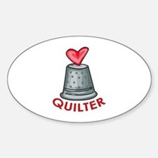 Quilter Decal