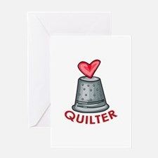 Quilter Greeting Cards