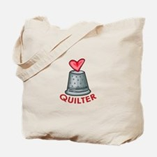 Quilter Tote Bag