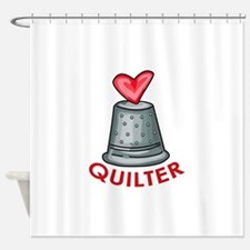 Quilter Shower Curtain