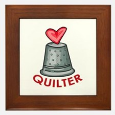 Quilter Framed Tile