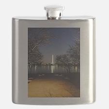 Washington Monument Flask