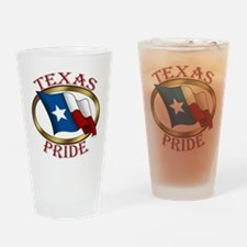 Texas Pride (T).png Drinking Glass