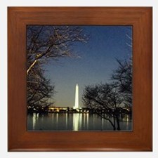 Washington Monument Framed Tile