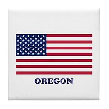 Oregon Tile Coaster
