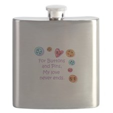 Buttons And Pins Flask