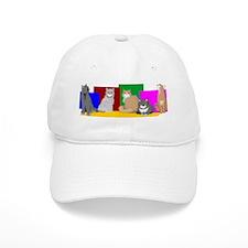 Cats we love Baseball Cap