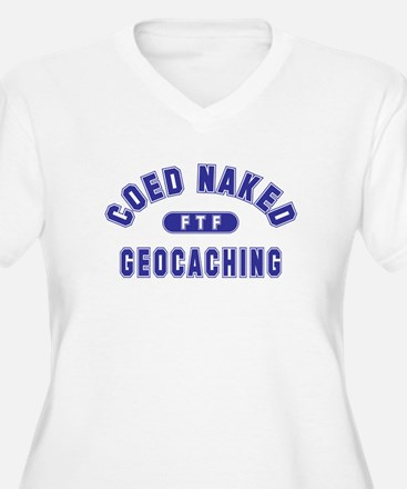 """Coed Naked Geocaching"" T-Shirt"