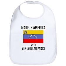 Made In America With Venezuelan Parts Bib