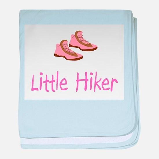 Little Hiker Baby Blanket