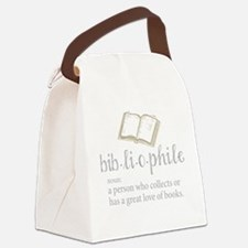 Bibliophile - Canvas Lunch Bag