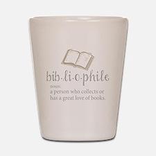 Bibliophile - Shot Glass