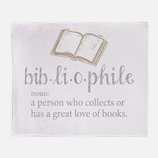Bibliophile - Throw Blanket