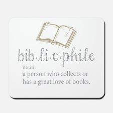 Bibliophile - Mousepad