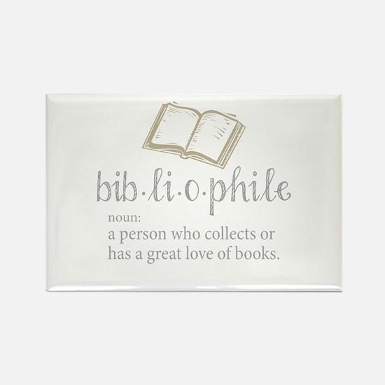 Bibliophile - Rectangle Magnet
