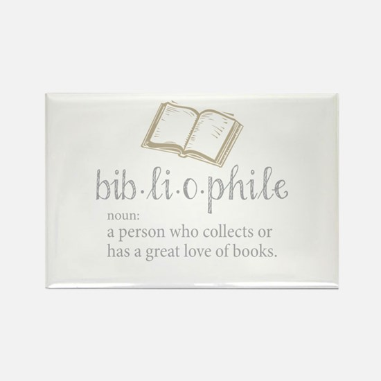 Bibliophile - Rectangle Magnet (10 pack)
