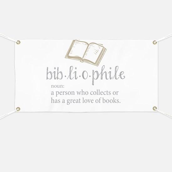 Bibliophile - Banner