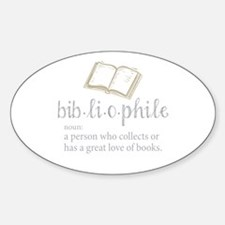 Bibliophile - Decal