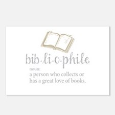 Bibliophile - Postcards (Package of 8)