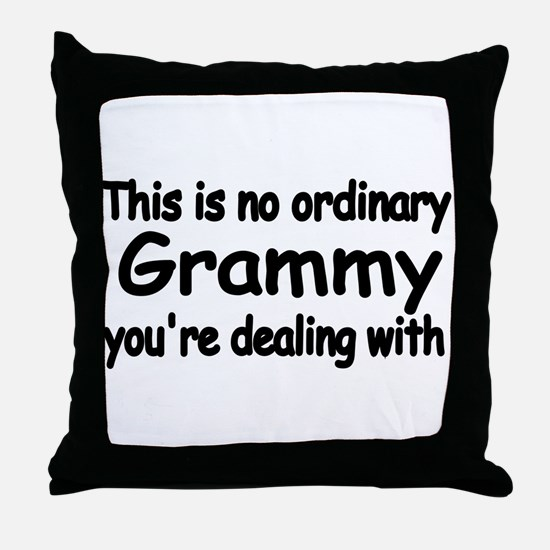 This is no ordinary Grammy you're dealing with Thr