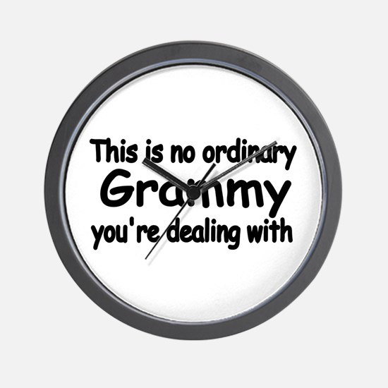 This Is No Ordinary Grammy You're Wall Clock
