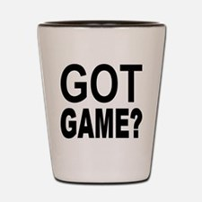 Got Game? Shot Glass