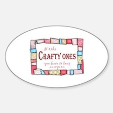 QUILTING HUMOR Decal