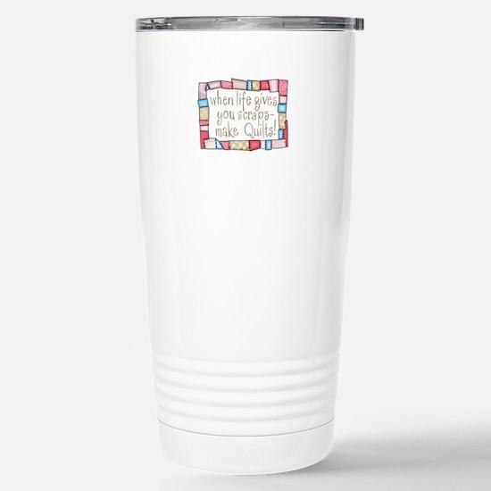 QUILTING HUMOR Travel Mug