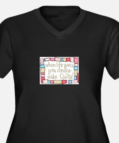 QUILTING HUMOR Plus Size T-Shirt
