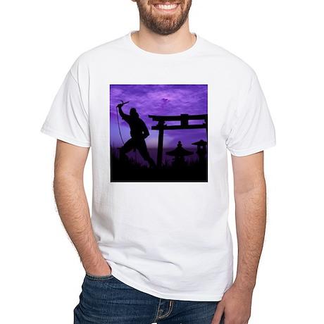 Ninja 2 White T-shirt