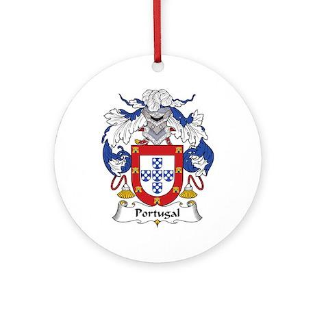 Portugal Ornament (Round)