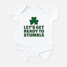 Let's get ready to stumble Infant Bodysuit