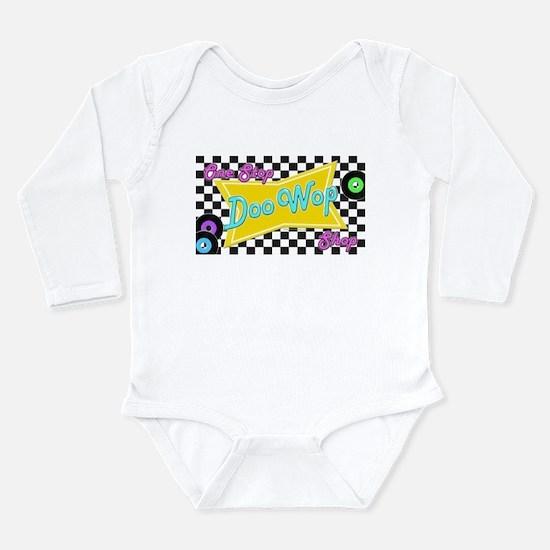 One Stop Doo Wop Shop Long Sleeve Infant Bodysuit