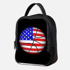 American Basketball Neoprene Lunch Bag