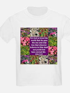 INSPIRING JOHN 3:16 T-Shirt