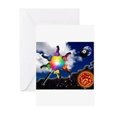 Abstract Art -001 Greeting Cards