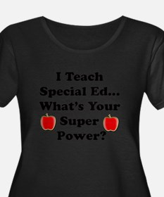 I teach special ed Plus Size T-Shirt