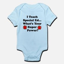I teach special ed Body Suit
