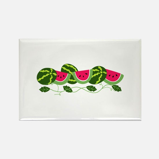 Watermelons Patch Magnets