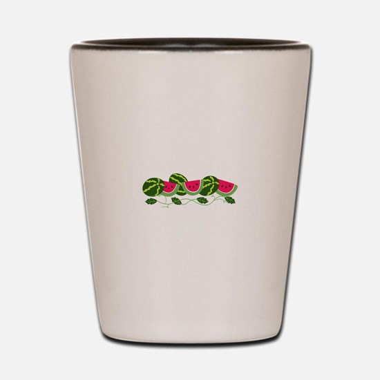 Watermelons Patch Shot Glass