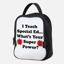 I teach special ed.png Neoprene Lunch Bag