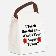 I teach special ed.png Canvas Lunch Bag