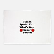 I teach special ed.png 5'x7'Area Rug