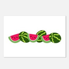 WATERMELONS Postcards (Package of 8)