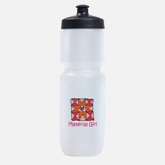 Material Girl Sports Bottle