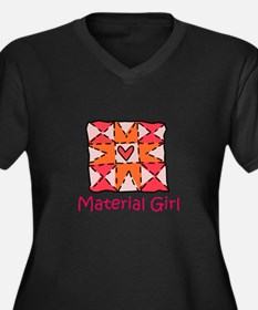 Material Girl Plus Size T-Shirt