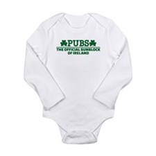 Pubs official sunblock Long Sleeve Infant Bodysuit