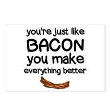 You are Just like Bacon Postcards (Package of 8)
