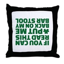 If you can read this put me back on m Throw Pillow