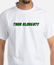 Thor Almighty White T-shirt